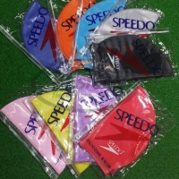 Speedo silicone cap topi renang silikon Harga Murah Warna Warni