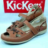 harga Sepatu Slipon Wanita Murah Kickers Casual Slop Sendal Kuliah Tokopedia.com