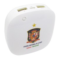 Taff Smart Power Bank 6000mAh 2014 Brazil World Cup 32 Team Spain MP60