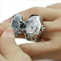 harga Jam Batu Cincin / Jam mini Batu Cincin / Mini Watch Finger gemstone Tokopedia.com