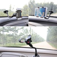 CAR HOLDER PANJANG 360 DEGREE untuk iPhone ponsel GPS MP4 PDA GIGI 4