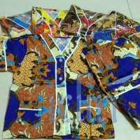 Baju Tidur/ Piyama Batik Anak Set Baju Celana Ukuran 8-10 (besar)