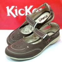 harga Sepatu Wanita Kickers Casual Slop Sendal Kuliah Tokopedia.com
