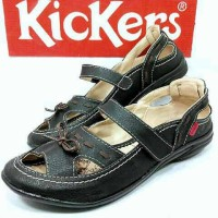 harga Sepatu Wanita Kickers Casual Slop Sendal Tokopedia.com