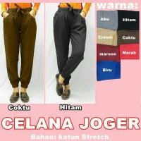Jual Celana jogger/joger katun stretch pant cewe/wanita termurah Murah