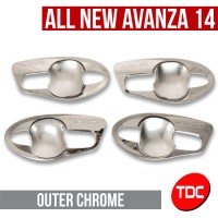 harga Outer All New Avanza / Xenia Veloz Chrome Variasi Toyota By Tdc Tokopedia.com
