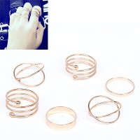 Cincin Korea Best Seller Ring Forever21 multilayer simple design