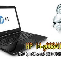 HP 14-g008AU # 14 QUADCORE Termurah !!