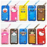 Softcase Samsung Galaxy E7 : Cartoon 3d