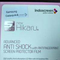 Samsung Galaxy A8 Anti Gores Anti Shock Clear , Screen Guard