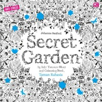 Anti Stres Taman Rahasia Secret Garden Coloring Book For