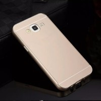 Exclusive Aluminium Frame Case Samsung Galaxy J5 - Gold