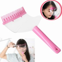 Tyotyo DIY Hair Trimmer Bangs Comb (Pink)