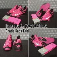 sepatu basket hyperrev 2014 pink (with socks)