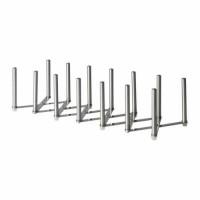 Ikea Variera ~ Penyusun Tutup Panci|Pot Lid Organizer|Stainless Steel