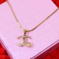 harga Kalung Chanel  Liontin Chanel Full Permata - Xuping Gold Lapis Emas Tokopedia.com