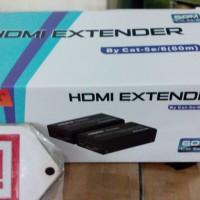 NetLine HDMI Extender > Range 60m by Cat.5e/6 UTP LAN Cable