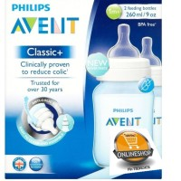 harga Avent Bottle Classic Plus 260ml Isi 2pcs Tokopedia.com