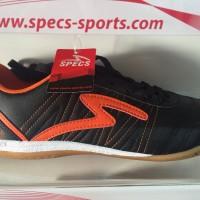 Sepatu futsal specs horus black orange 2015 original 100% sale