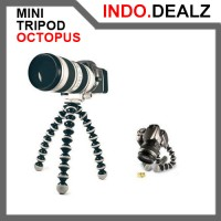 TRIPOD MINI OCTOPUS BRACKET HOLDER FOR CAMERA HP GO PRO HERO YI ACTION