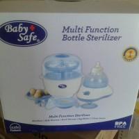 Baby safe multi function bottle sterilizer