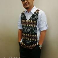 Harga kemeja pria batik kombinasi model korea | antitipu.com