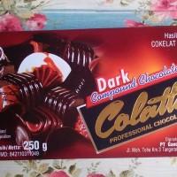 cokelat collata dark 250 gr