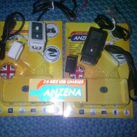 Casan di Motor Charger HP GPS Camera Anzena USB Waterproof