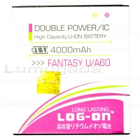 MITO Fantasy U A60 Baterai - LOG ON LOGON LOG-ON BATRE Battery Batere