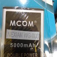 harga Baterai Dobel Power Mcom Nexian Wg003 Helios Mi 531 5000mah Tokopedia.com