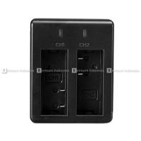 SJCAM Dual/Double Desktop Baterai/Battery Charger