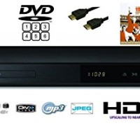 LG DP542H DVD Player HDMI - Hitam Free HDMI KABEL