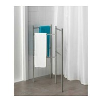 Ikea Grundtal ~ Stand Handuk | Towel Stand | Stainless Steel