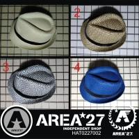 Jual Topi Fedora Jerami Tribal Import Straw Hat HAT0227002 Murah