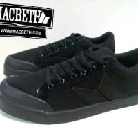 harga Sepatu Sneakers Macbeth Vegan Full Black Tokopedia.com