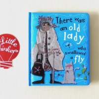 Kate Toms There Was an Old Lady Who Swallowed a Fly - buku impor anak