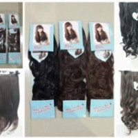Hairclip biglayer BLC Curly / Lurus