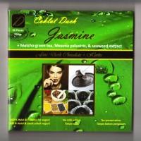 Jasmine - Camilan coklat hitam dengan rasa dan khasiat green tea