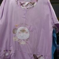 stelan baju tidur big size 3/4 ANNE CLAIRE