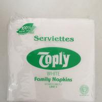 Tissue Kertas / Napkin Merk Toply (isi 50 lembar)