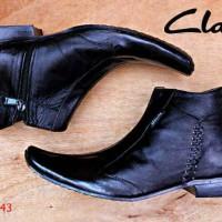 Clarks pantofel kulit asli