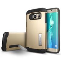 Spigen For Samsung Galaxy S6 Edge Plus Slim Armor - Gold