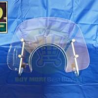 Wind Screen Kit Vespa LX 150 3v ie CLEAR