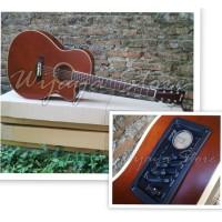 harga Gitar Tuner Eq7545t Warna Coklat Tokopedia.com
