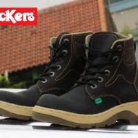 harga Kickers Safety Human Boot Leather Original Tokopedia.com