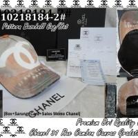 TOPI / HAT/ CAP co/ce CH-10218184-2# PREMIUM Ori Quality CHANEL IMPORT