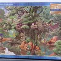 Tenyo Disney Puzzle - 1000 pcs Magical Tree House