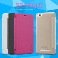 Flip Case Nillkin Xiaomi Mi4i Sparkle Series Hitam Only