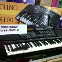 Keyboard Techno T8100 belajar pemula dewasa/anak