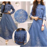 Gamis Salsa Jeans Payung Fit L.xl